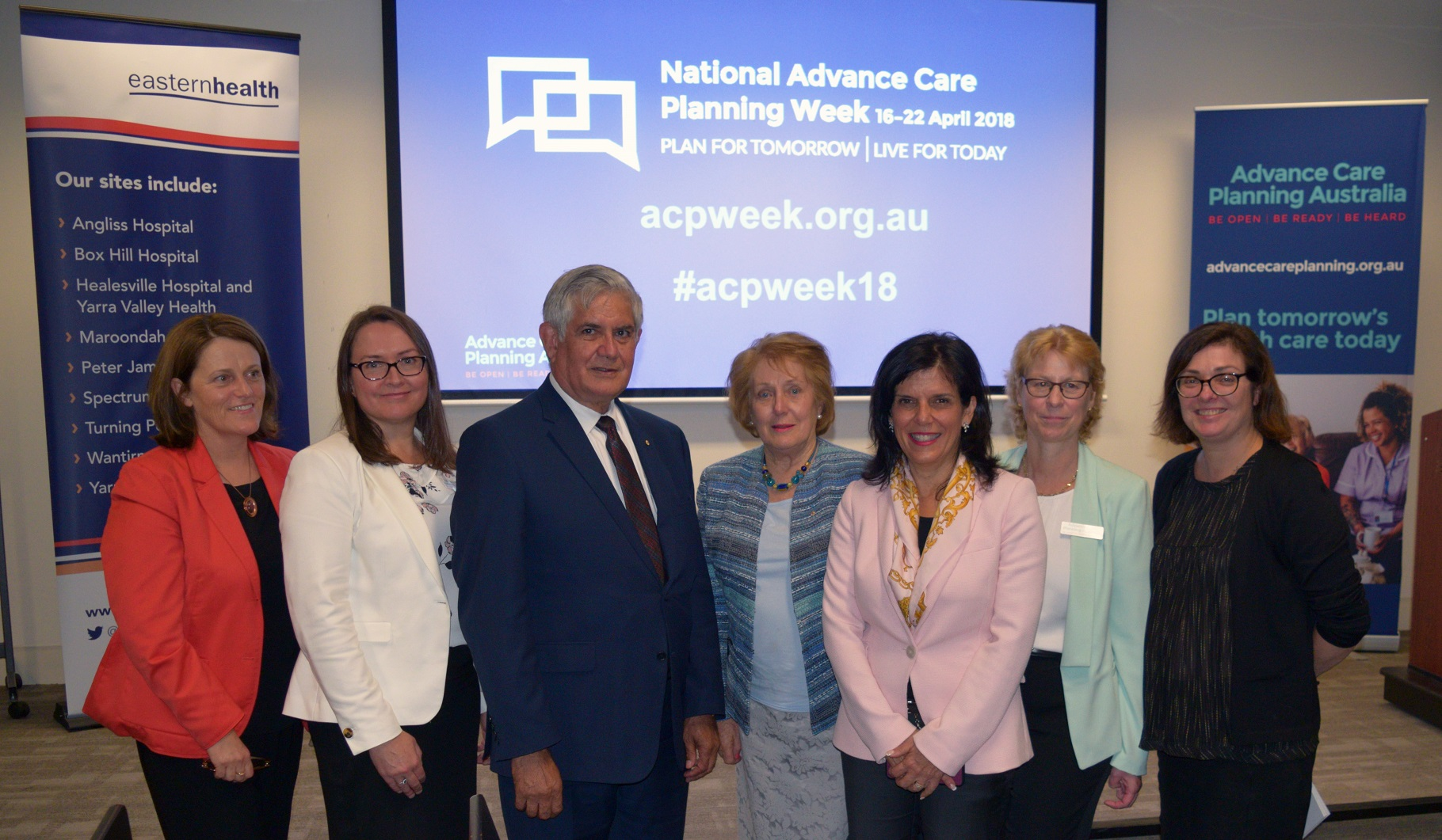 National Advance Care Planning Week launch at Eastern Health in Box Hill.