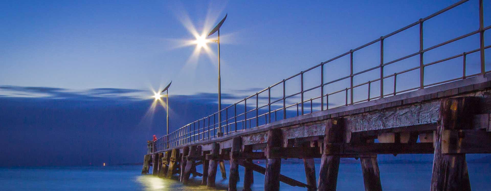 SA fishing jetty