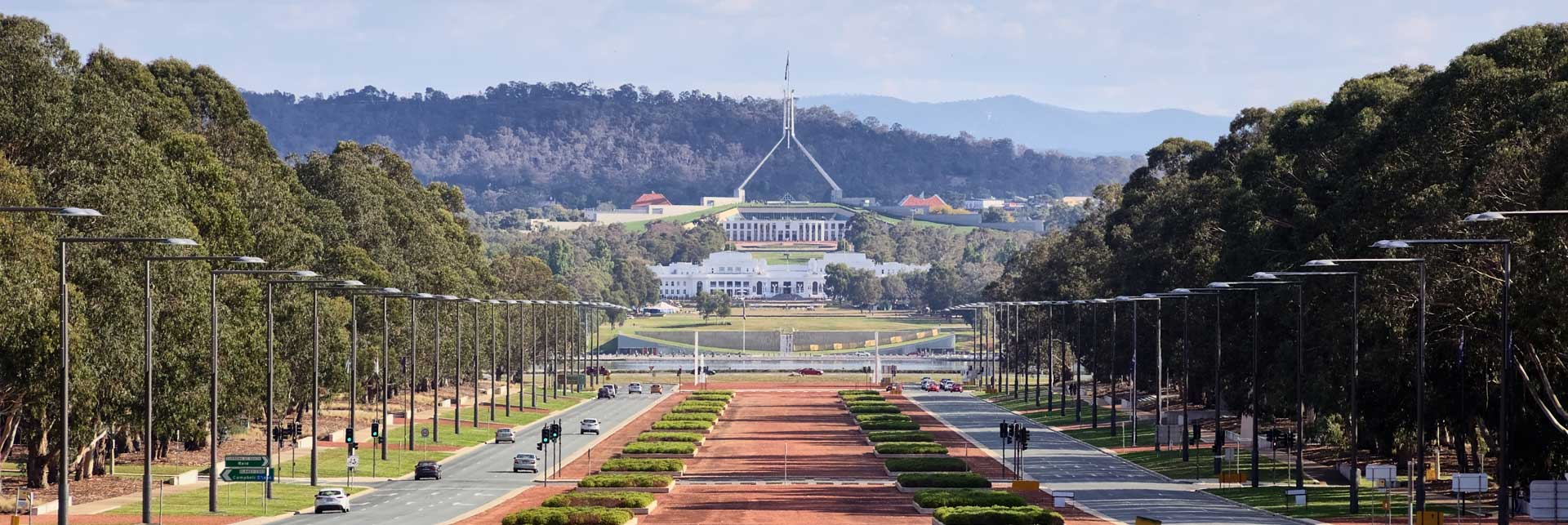Image of parliament house in canberra
