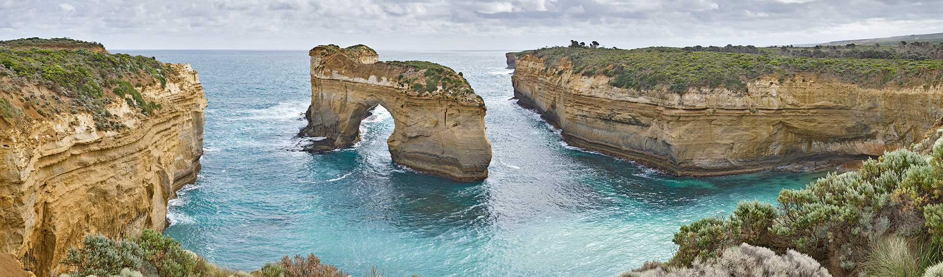 image of great ocean road in Victoria